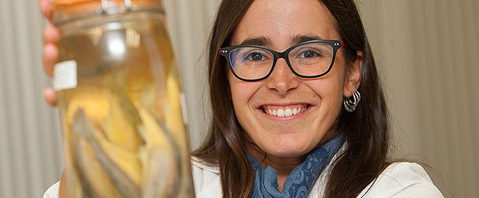 Nora Escribano: primera española en ganar el Premio Internacional Jóvenes Investigadores sobre Biodiversidad